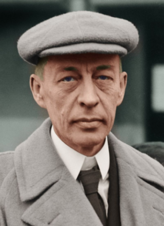 Russian Composer Sergei Rachmaninoff