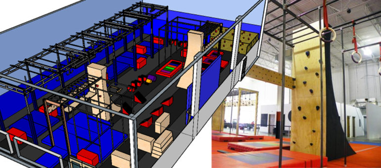 Chelsea Piers Ninja + Parkour training Center 2019