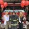 Red Fire Engine Opus Darien Fire Department