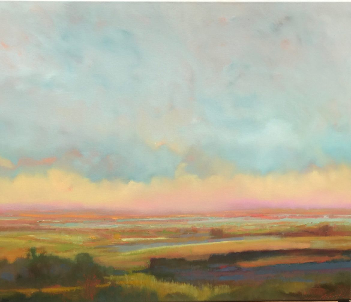 William McCarthy's Morning Sunrise painting