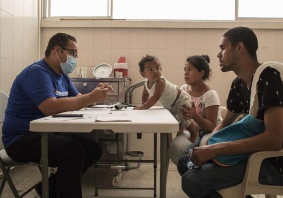 Venezualan refugees clinic Americares 2019