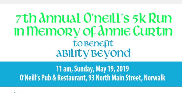 O'Neill's 5K Run Ability Beyond 2019