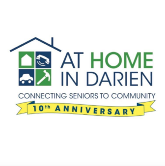 At Home In Darien logo