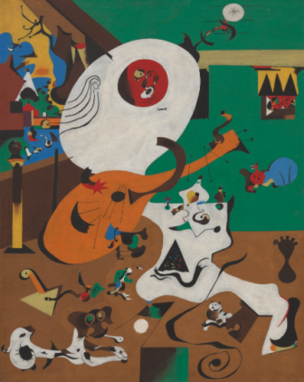 Joan Miro oan Miró MoMA exhibit 2019 The Birth of the World