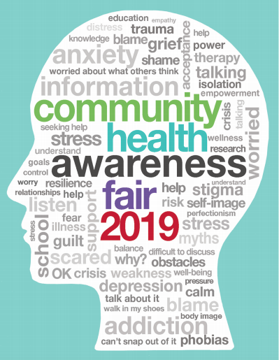 Health Fair poster image Depot 2019