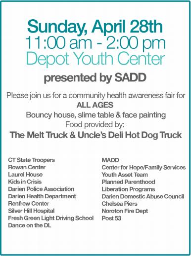 Depot poster Health Fair 2019