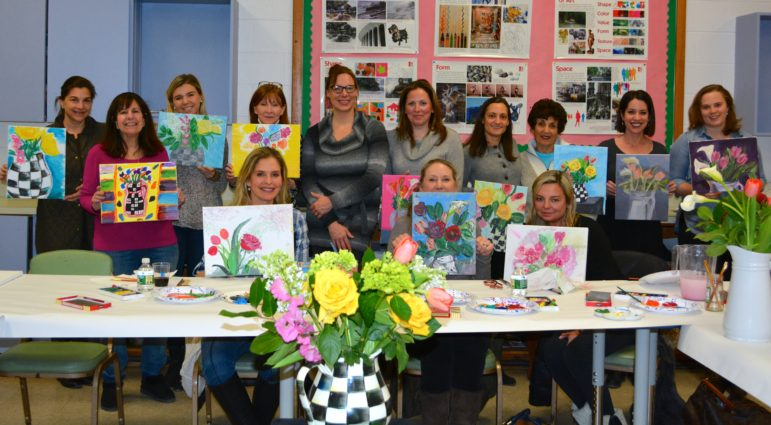 DAC Sip and Paint April 2019