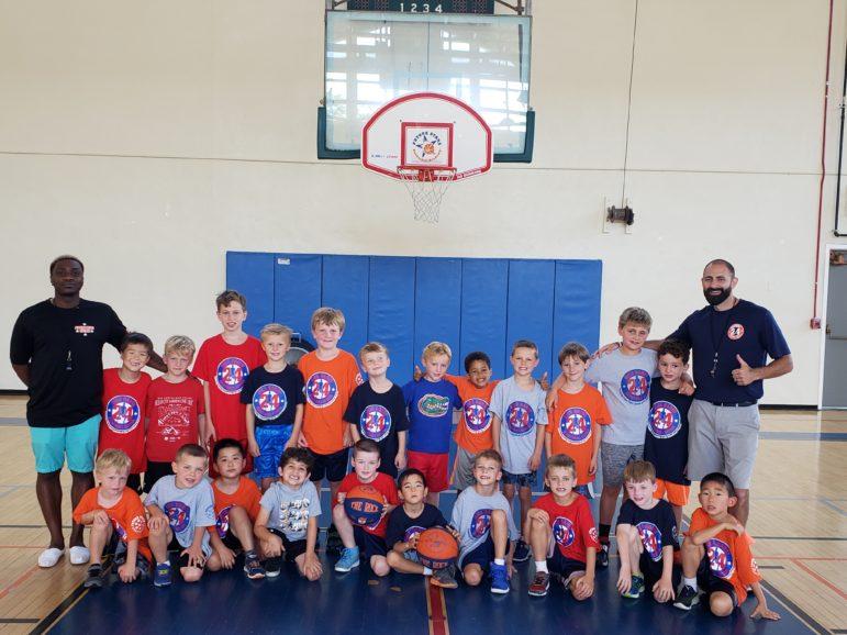 Darien Park and Rec basketball program 2019