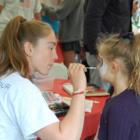 Face Painting Memorial Day Food Fair Darien EMS-Post 53