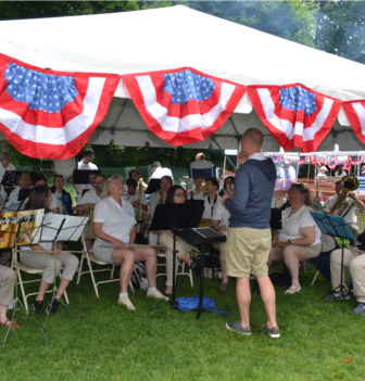 Darien Community Band Memorial Day 2018
