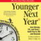 Younger Next Year audiobook cover square image for homepage