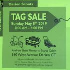 Darien Scout Tag Sale 2019