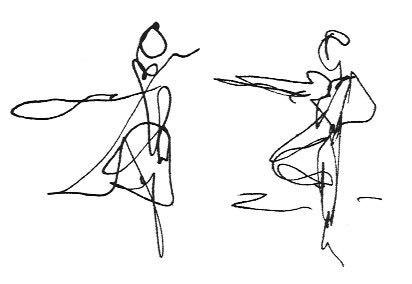 Dancers by Ilana Appleby