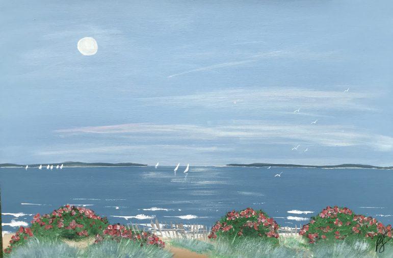 Painting Shoreline Peter Saverine