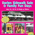 Top of page pic Darien Sidewalk Sales 2019