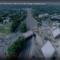 Aerial Construction site Exit 9