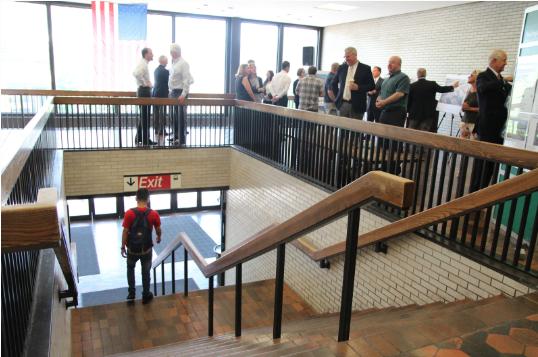Interior present Greenwich Railroad Station July 2019