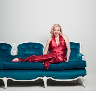 Storm Large publicity photo Wall Street Theater