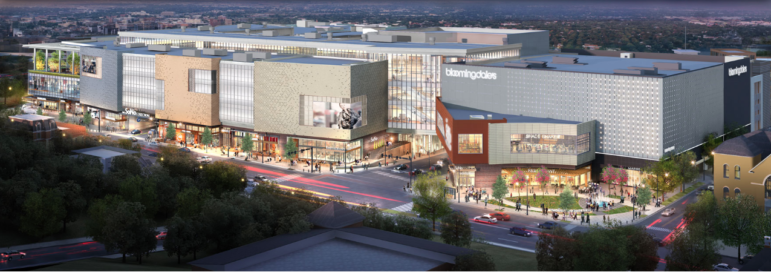 SoNo Collection mall architect's rendering