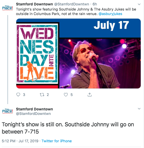 Tweet Southside Johnny and Asbury Jukes
