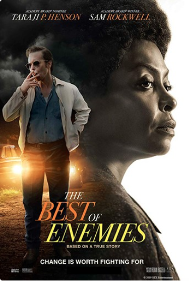 Movie poster The Best of Enemies 2019
