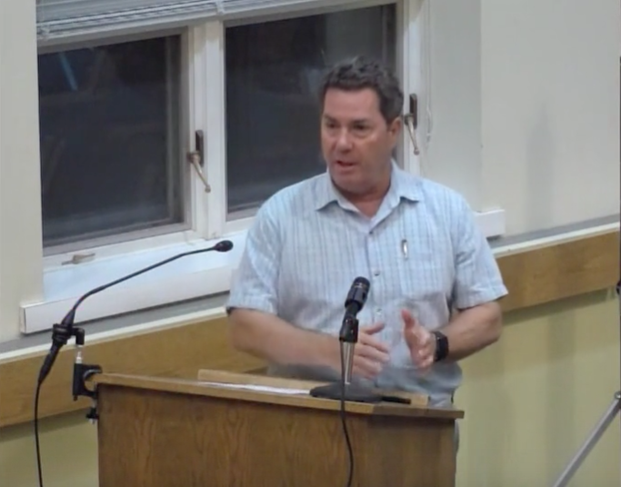 Greg Palmer July 30, 2019 before P&Z Commission