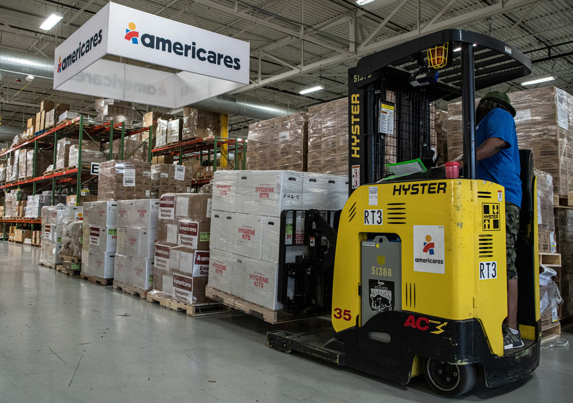 Americares warehouse