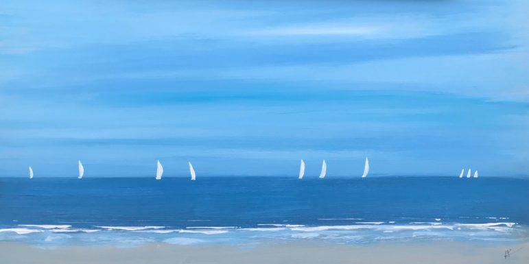 Peter Saverine beach scene