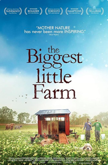 Biggest Little Farm movie poster 2018