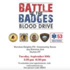 Battle of the Badges blood drive Darien 2019