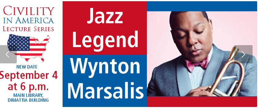 Wynton Marsalis Ferguson Library Civility In America