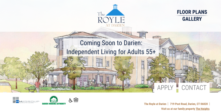 Royle at Darien website home page image