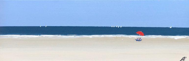 Peter Saverine artwork beach