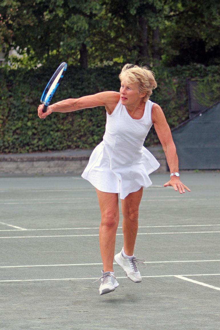 Yvette Eenkema van Dijk at Golf and Tennis Classic 2019