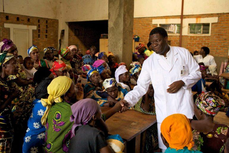Denis Mukwege Nobel Prize Winner by Torleif Svensson