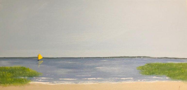 Peter Saverine painting