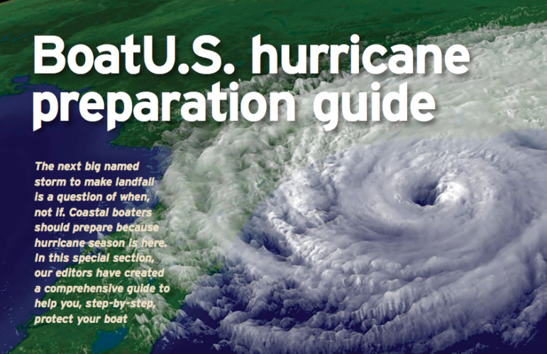 BoatUS Hurricane Preparation Guide 2019