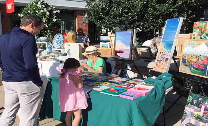 Artists at Grove Street Plaza 2019