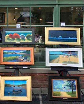 Art at Artists at Grove Street Plaza 2019