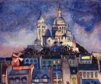 Sacre-Coeur Montmartre Alex Dolan