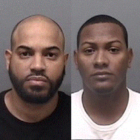 Delmon Medina and Johell Reyes mug shots