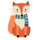 A fox Darien Children's Library announcement
