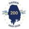 Darien 200 Bicentennial Logo