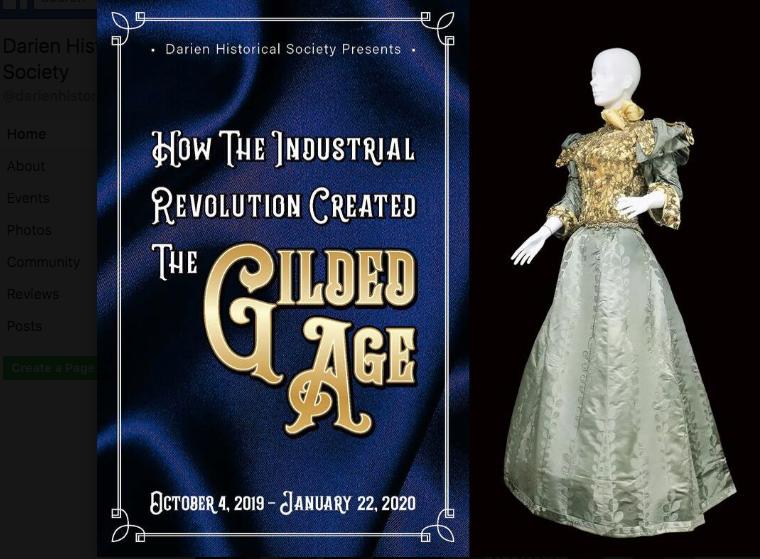 Gilded age images facebook darien hist socy exhibit