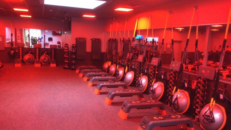 Orangetheory gym equipment