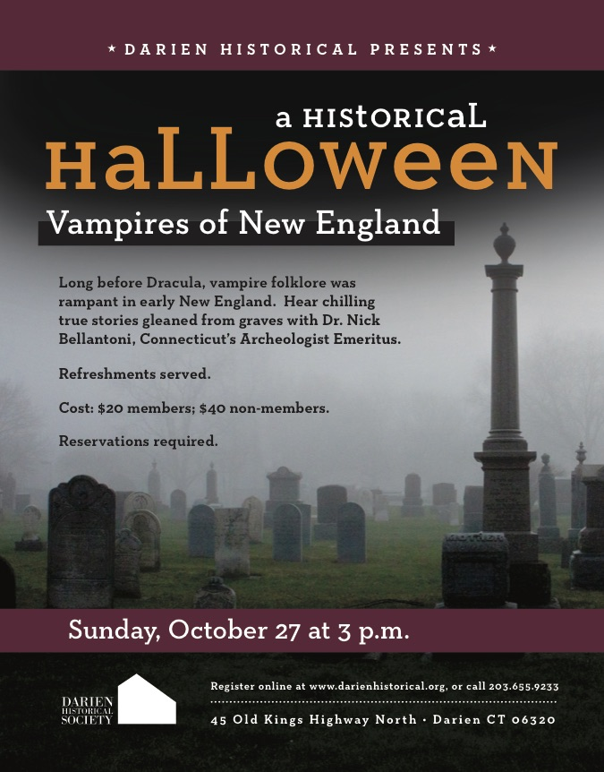 Vampires in New England talk 2019