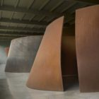 Richard Serra art at Dia-Beacon