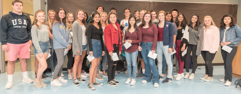 2019-2020 DHS commended students National Merit Scholarship Program