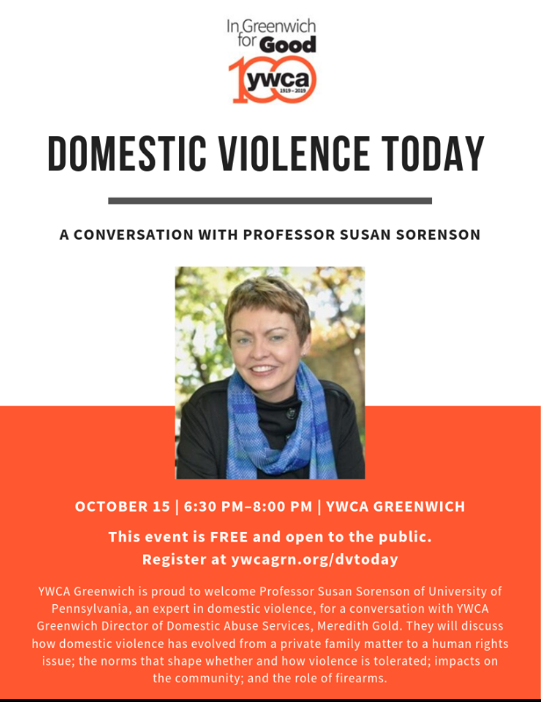 Domestic Violence Today YWCA Greenwich