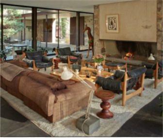 Eliot Noyes House interior by Michael Biondo